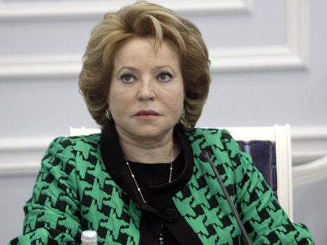 """Американцы """"послали"""" Матвиенко — переговоров не будет"""