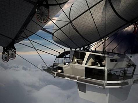 Дизайнер Тимон Сагер предложил концепцию летающего дома