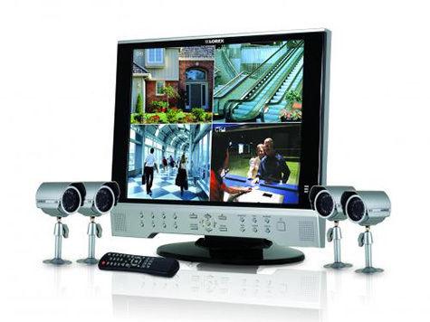 Охрана дома при помощи систем видеонаблюдения