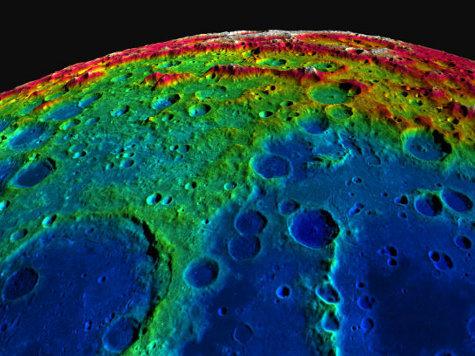 Вышла в Сеть самая полная объемная карта Луны