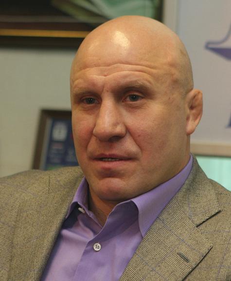 Михаил Мамиашвили, президент Федерации спортивной борьбы России, олимпийский чемпион