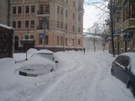 Чиновники предпочли не заметить снегопад