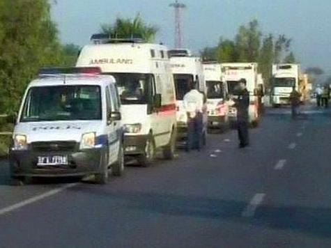 В Турции произошла авария с туристическим автобусом, в ней пострадали россияне
