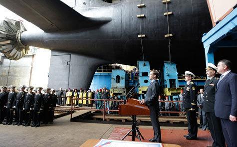 Подводная лодка будет охранять месторождения Арктики