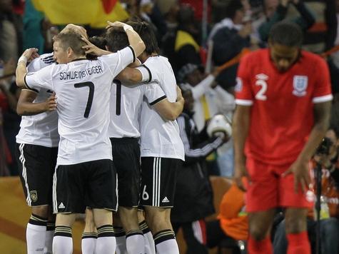Немцы вышли в четвертьфинал