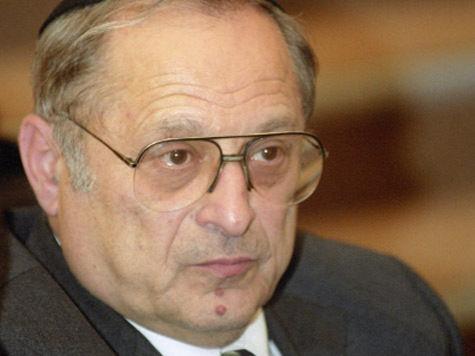 Раввин Зиновий Коган предложит Путину передать церкви Министерству культуры