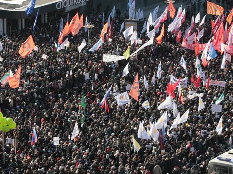 Траурный «Марш миллионов»