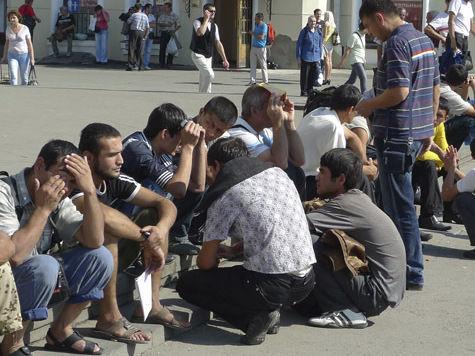 В Москве разбили лагерь для мигрантов-нелегалов