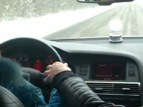Отца восьмилетней автогонщицы оштрафовали на 2500  рублей. ВИДЕО
