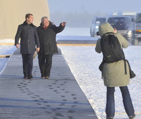 Медведев ужаснулся в трущобах