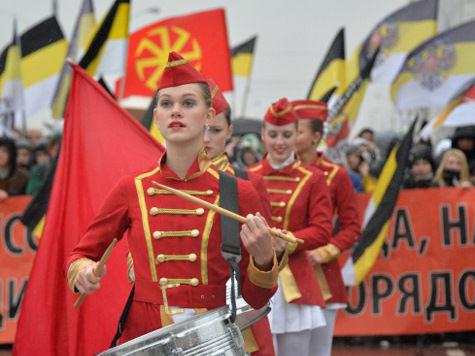 «Русский марш» в самый интернациональный день в году