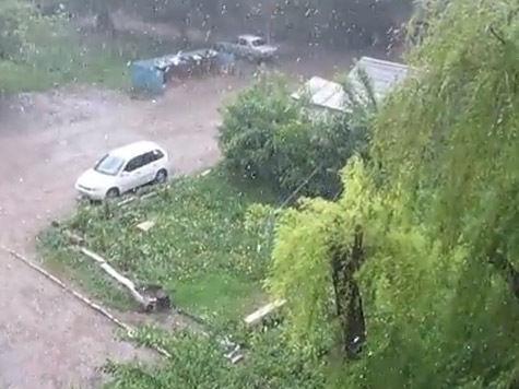 Торнадо после Оклахомы объявился в Тульской области
