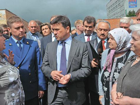 Андрей Воробьев — мэру Можайска: «Вы сейчас заявление напишете или в конце дня?»