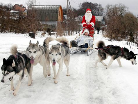 Дед Мороз поздравит с новым городом