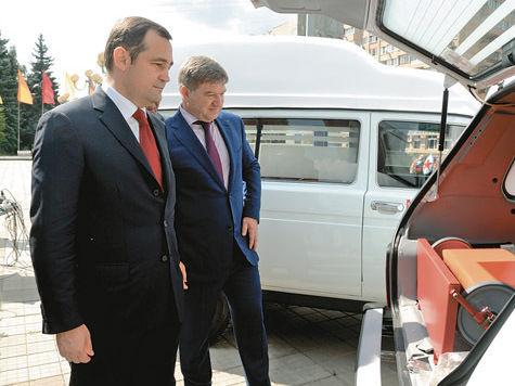 Медики Балашихи получили новые колеса
