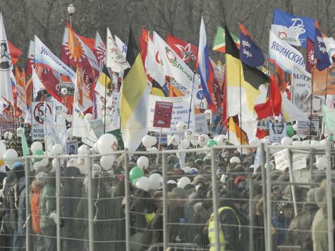 Московские власти снова отклонили маршрут