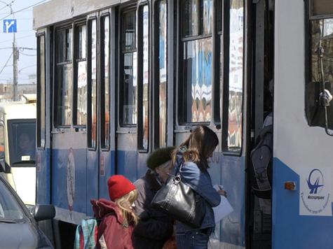 Трамваи на улице Кулакова в районе Строгино прекратят движение, правда, лишь на время реконструкции устаревших трамвайных путей