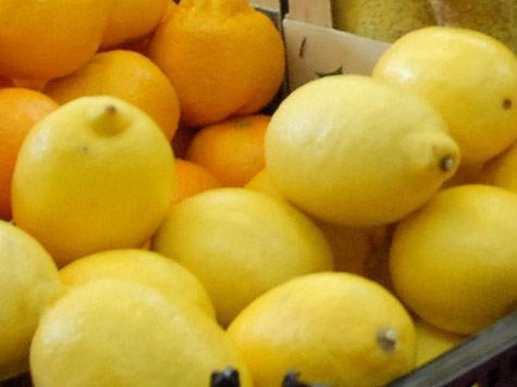 В июле было выгодно объедаться лимонами