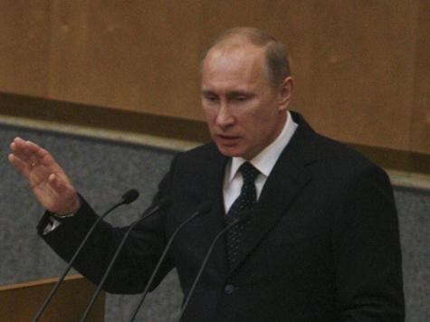 Премьера приветствовали стоя только единороссы, а эсеры устроили «протестный уход»