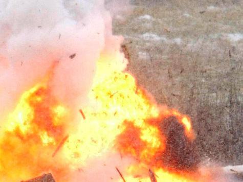 При пожаре в петербургском институте обрушилась кровля