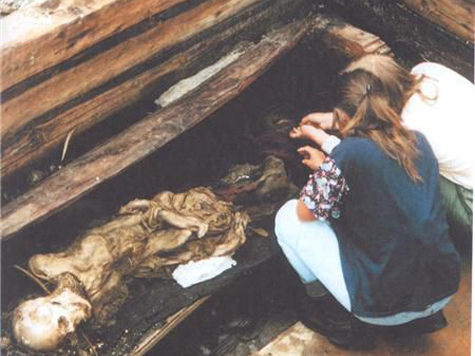 Для «Алтайской принцессы» строят подземный мавзолей