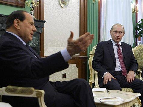WikiLeaks рассказал подробности о дружбе Берлускони с Путиным