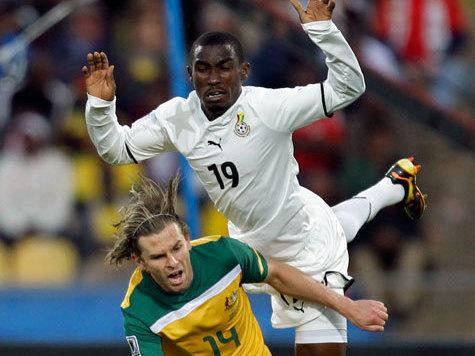 """В последнем туре решится, кто выйдет из группы: настоящая Германия  или """"африканские немцы"""" из Ганы?"""