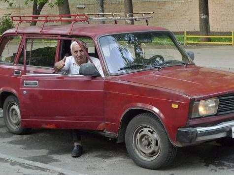У россиян кончаются деньги на личный транспорт