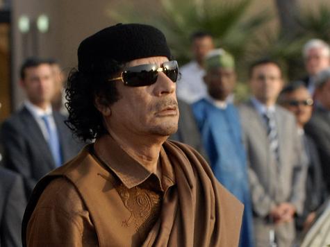 Украинцев объявили пособниками Каддафи