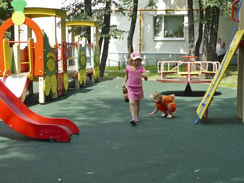 Дорожные знаки установят на детских площадках