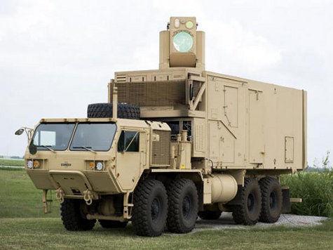 Boeing испытывает мобильную лазерную систему