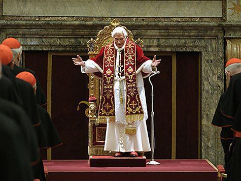 Папа Римский в последний раз благословил паству