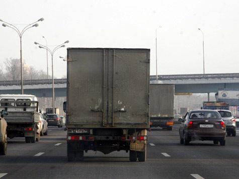 Габариты транспорта на МКАД измерят рублем