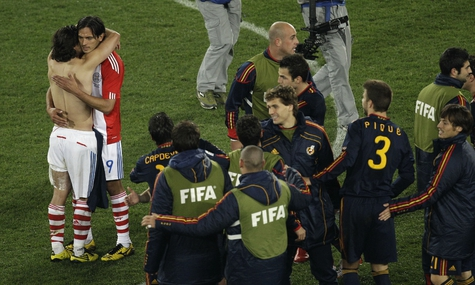Команда Испании вышла в полуфинал