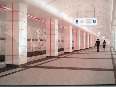 Весной 2014 года вместе с одноименным стадионом откроется станция «Спартак»