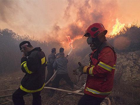 В Израиле бушует крупнейший в истории страны пожар