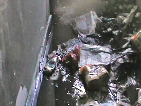 Неудавшийся убийца попал на небеса по пожарной лестнице