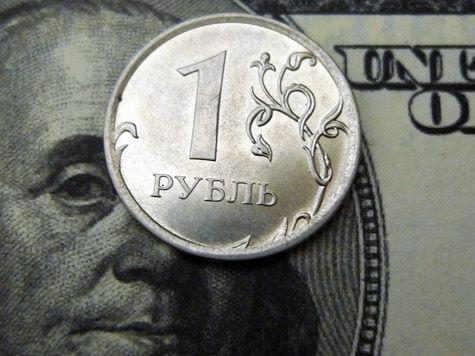 Стоимость доллара на российском рынке, возможно, достигнет 35 рублей