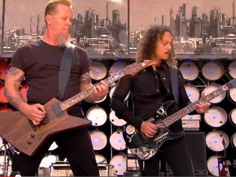 Metallica запретила Пентагону использовать ее музыку на допросах