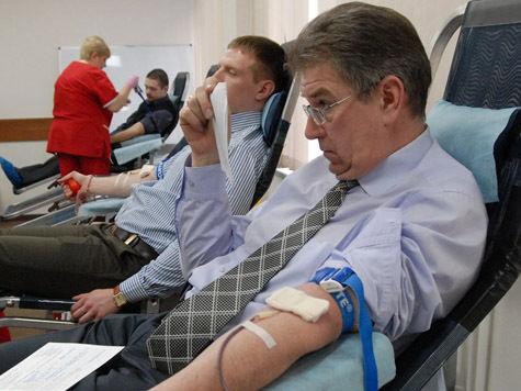 Накануне 8 марта в Департаменте развития новых территорий Москвы впервые провели собственный День донора
