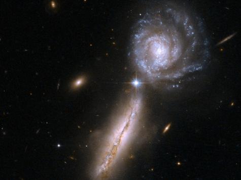 Млечный Путь мог столкнуться с другой галактикой