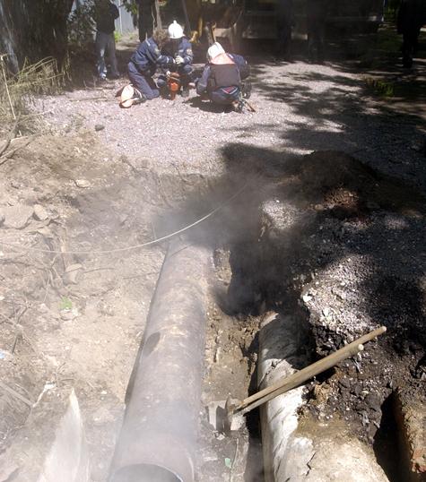 Военные из Монино четыре дня жили без отопления и горячей воды