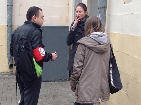 В Москве начались облавы на курильщиков