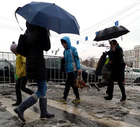 Ледяной дождь превратил Москву в зону происшествий
