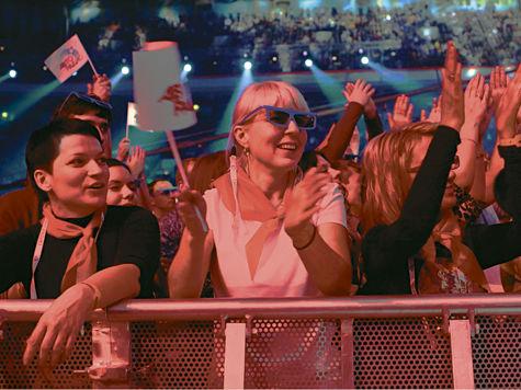 Рок-музыканты и поп-исполнители оторвались на музыкальном фестивале «Авторадио»