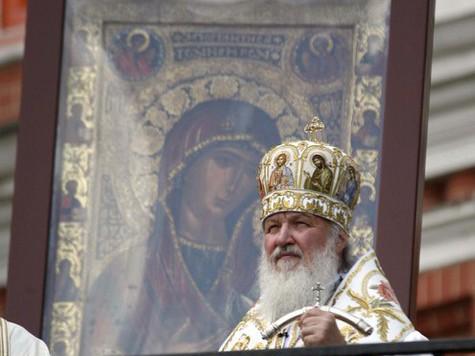 Иверскую икону выставили на Васильевском спуске