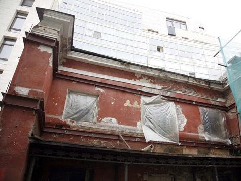 Арбатский частный дом понизили на два этажа