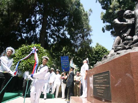 В Мессине в честь русских моряков установили памятник и переименовали площадь