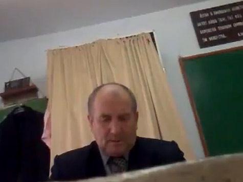 Фашиствующий учитель оправдан в суде
