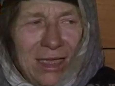Об этом она рассказала навестившим ее в тайге журналистам РЕН-ТВ